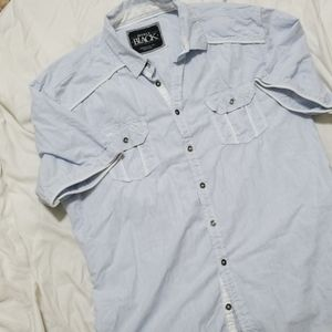 Buckle Black men's shirt